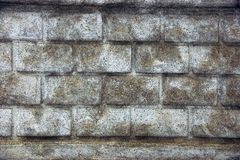 Gray stone texture of stone and rubble Royalty Free Stock Images