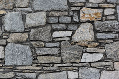 Gray stone texture. Texture of the gray stone wall Stock Image