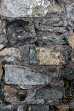 Gray stone texture. Texture of the gray stone wall Stock Images