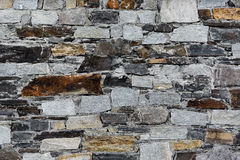 Gray stone texture. Texture of the gray stone wall Royalty Free Stock Images