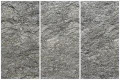 Gray Stone Texture Wall Collage - fundo abstrato foto de stock