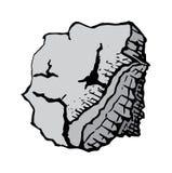 Gray stone, vector Stock Photo
