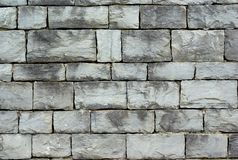 Gray stone wall Royalty Free Stock Photography