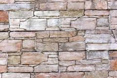 Gray stone wall Royalty Free Stock Photo