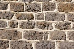 Gray stone wall Stock Photography
