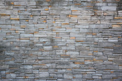 Gray stone wall texture background. Royalty Free Stock Image