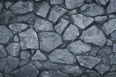 Gray Stone Wall Texture Graues Felsenmuster Steiniger Weg des Schmutzes Granit gemasert, städtische Architektur Oberfläche des Ma lizenzfreie stockfotos
