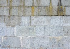 Gray stone wall texture. Horizontal frame. Texture of a gray stone wall on the whole frame royalty free stock photo