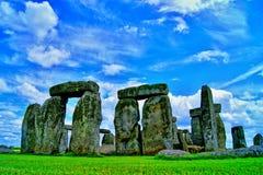 Gray Stonehenge Royalty Free Stock Photos