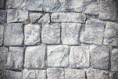 Gray stones pavement bricks background stock images