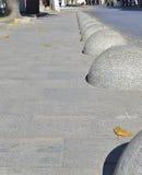 Gray stony sphere Stock Photos