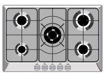 Gray stove Stock Image