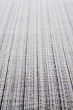 Gray stripe fabric Stock Images