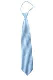 Gray stripe necktie isolate Stock Photography