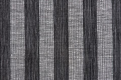 Gray striped fabric background Royalty Free Stock Images
