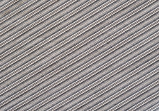 Gray striped fabric Stock Photo