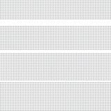 Gray striped halftone of dots on white. vector illustration