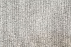 Gray striped jersey fabric texture. Closeup of gray striped jersey fabric texture for background Royalty Free Stock Images