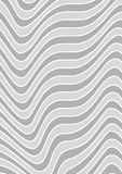 Gray Striped Texture. Background Illustration, Vector Royalty Free Stock Photo
