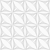 Gray striped triangular shapes in grid Royalty Free Stock Photo