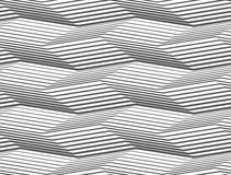 Gray striped uneven zigzag Stock Photography