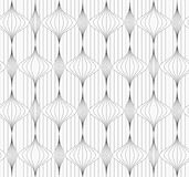 Gray striped vertical Chinese lanterns on continues lines Stock Photography