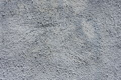 Gray stucco wall Stock Image