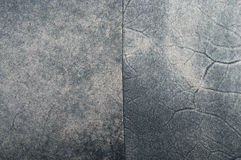 Gray suede. Seams. The texture and background Royalty Free Stock Images