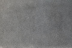 Gray suede texture or background Stock Image
