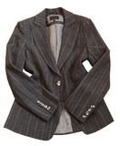 Gray suit jacket Royalty Free Stock Photo