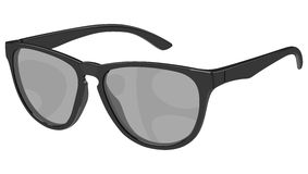 Gray sunglasses side Stock Photos
