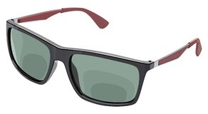 Gray sunglasses side Stock Image