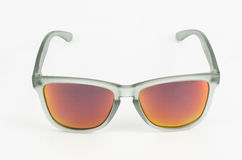 Gray sunglasses Royalty Free Stock Image