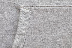 Gray sweater Royalty Free Stock Photography
