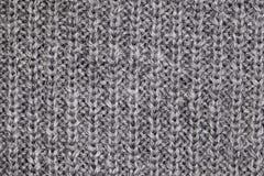 Gray sweater macro Royalty Free Stock Image