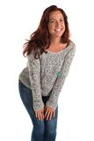 Gray sweater Royalty Free Stock Images