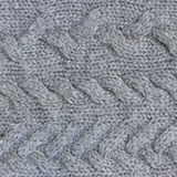 Gray sweater texture Stock Photo