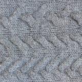 Gray sweater texture Stock Photo