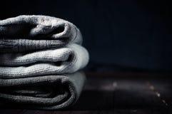 Gray sweaters Royalty Free Stock Photo
