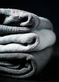 Gray sweaters Stock Images