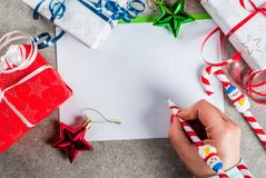 Christmas letter concept Royalty Free Stock Photo
