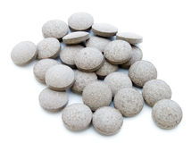 Gray tablets Stock Images