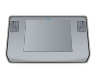 Gray tablets vector illustration