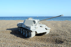Gray Tank Model Imagenes de archivo