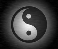 Gray Tao Background. Gray and Black Tao Background Royalty Free Stock Photography