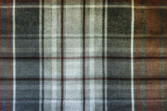 Gray tartan close up background Royalty Free Stock Photo