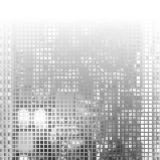 Gray Technology Background abstracto, vector Imagenes de archivo