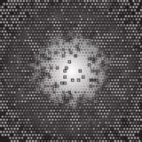 Gray Technology Background abstracto, vector Foto de archivo libre de regalías