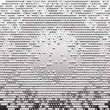 Gray Technology Background abstracto, vector Fotos de archivo libres de regalías