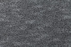 Gray textile background closeup. Structure of the fabric macro Royalty Free Stock Photo